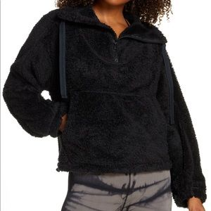NWT Free People Movement Big Sky Black Pullover S